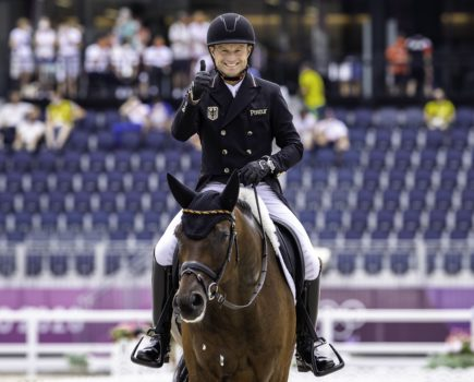 Tokyo Olympics: Michael Jung edges ahead in the individual standings after dressage; Britain holds on to team gold