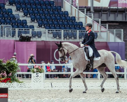 Townend sets the standard: Britain holds team and individual gold after day one of eventing dressage in Tokyo