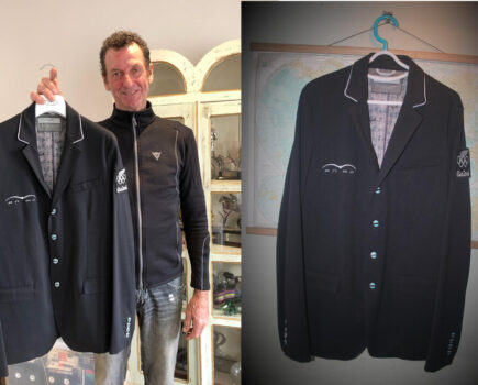 Signed Oliver Townend Saddlepad and Mark Todd's Rio Jacket Among Auction Items for Racehorse Charity