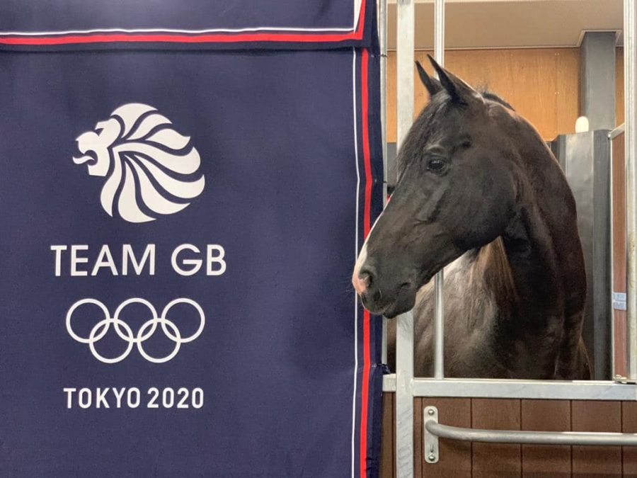 18 flying hours, 100,000kg of gear and 10 people on board: how the British dressage horses got to Tokyo
