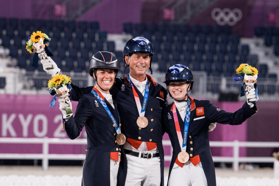 Tokyo Olympics: bronze for Britain's dressage riders and incredible 14th team gold for defending champions Germany