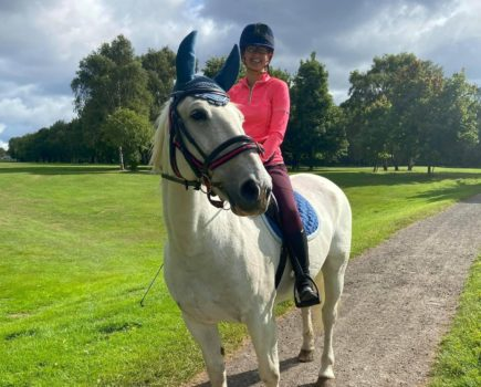 'I thought our challenge was over' — horse who stood on glass recovers in time to hack 1,000 miles in less than a year