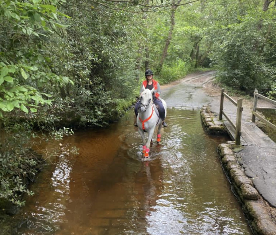 Anna's #Hack1000Miles diary: refusing to cross a ford and riding boots full of stagnant water