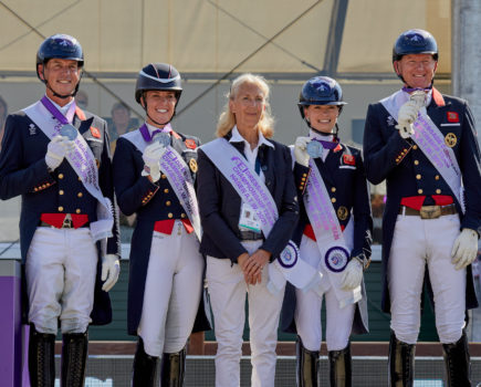 Britain takes silver behind Germany who win incredible 25th team gold at European Dressage Championships