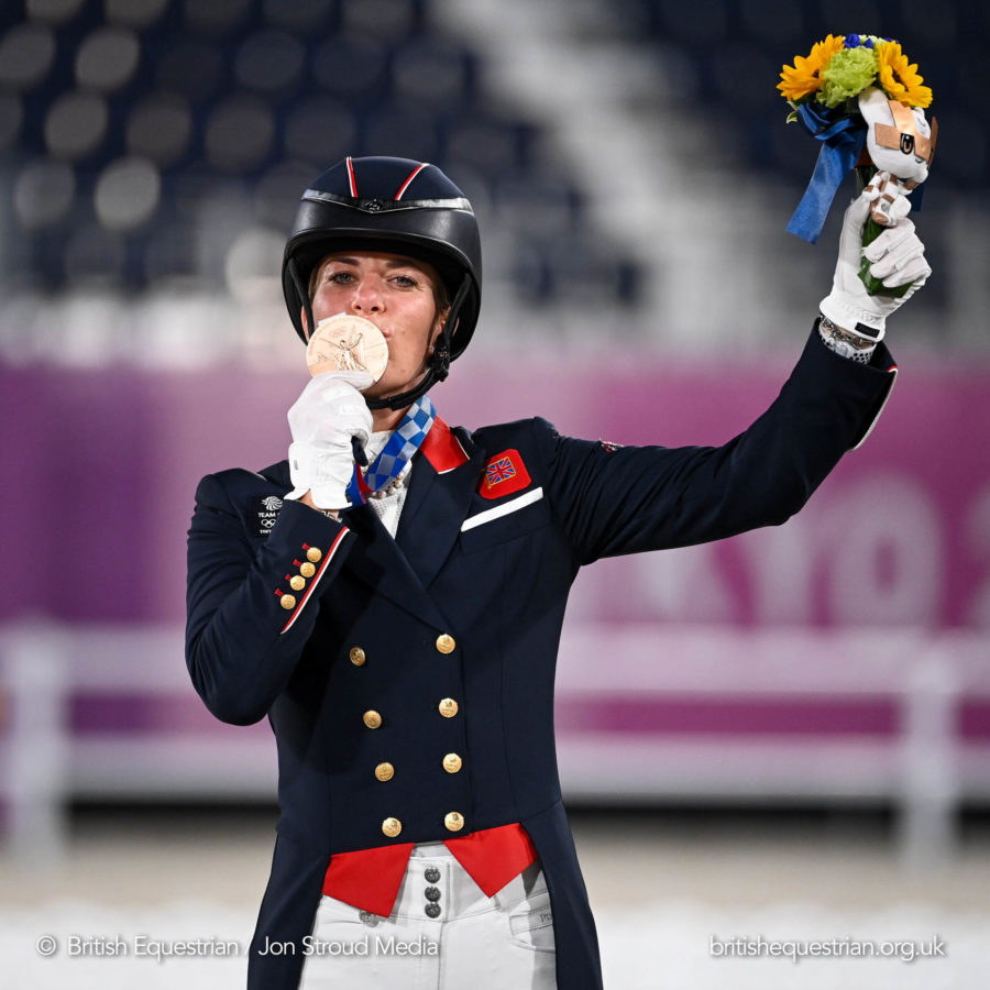 Record-breaking bronze for Charlotte Dujardin as Germany net individual gold and silver in Tokyo