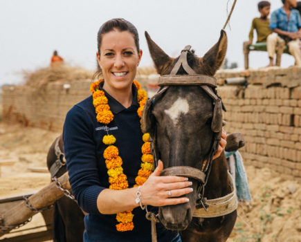 Charlotte Dujardin backs emergency appeal to help horses and donkeys in Covid-stricken India