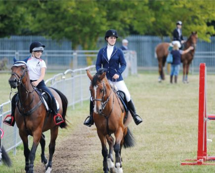 'She was frightened': how a rider stopped her horse kicking out at others in warm-up arenas