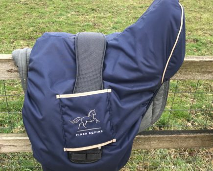 Keep your saddle looking like new: Your Horse's long-term test of the Finer Equine Saddle Cover