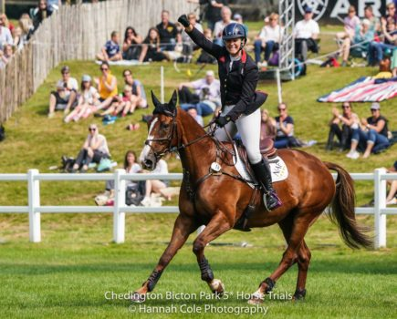 Gemma Tattersall leads all-female top three as she nets first 5* title at Bicton — and becomes a fiancé!