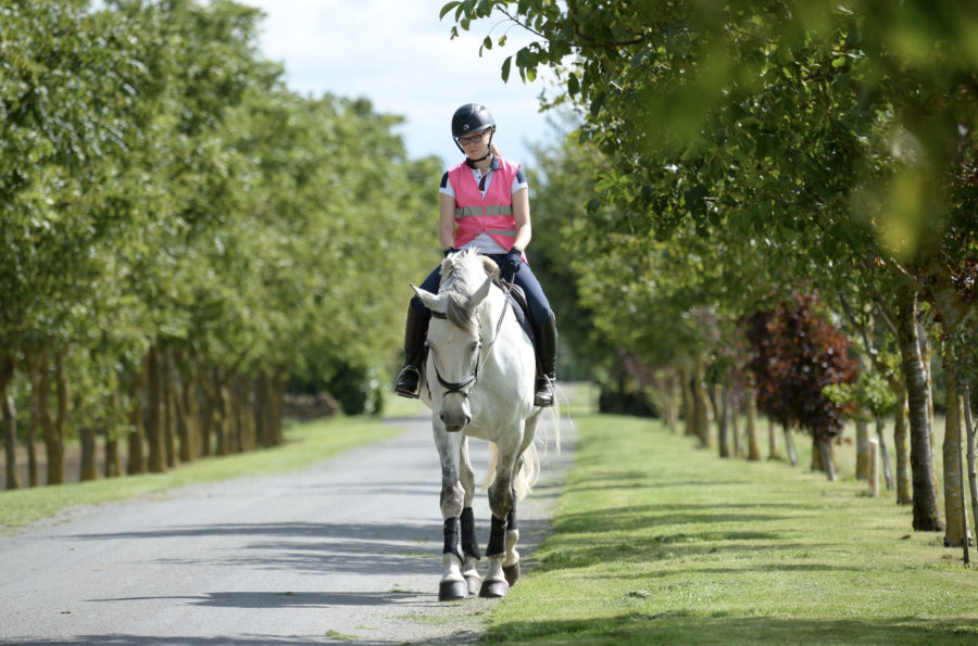 How to prevent aching ankles and hips when hacking long distances