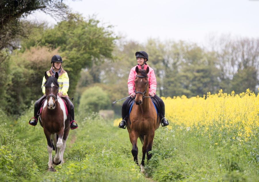 Andrew Hoy's six ways to work on your horse's suppleness out hacking