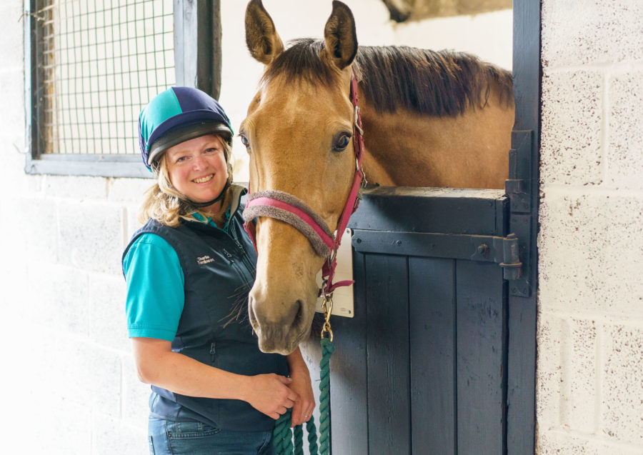 Equine vet who suffered brain injury at work backs campaign for all vets and staff to wear hats around horses