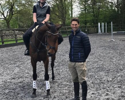 Harry Meade Helps One Reader Improve Her Horse's Jumping Technique