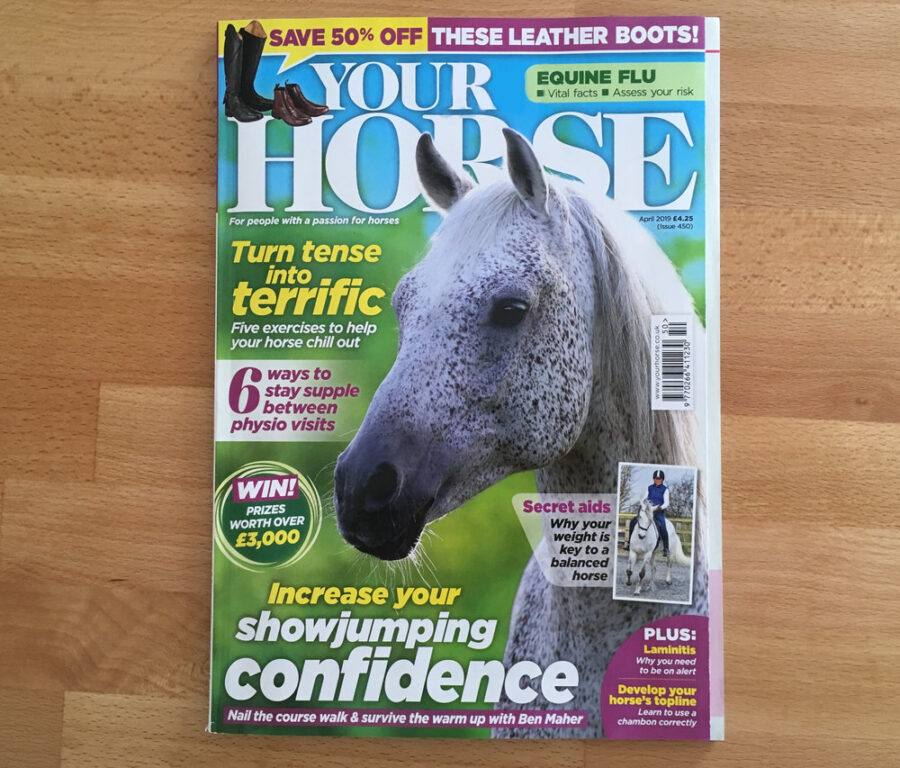 Inside the April Issue of Your Horse Magazine