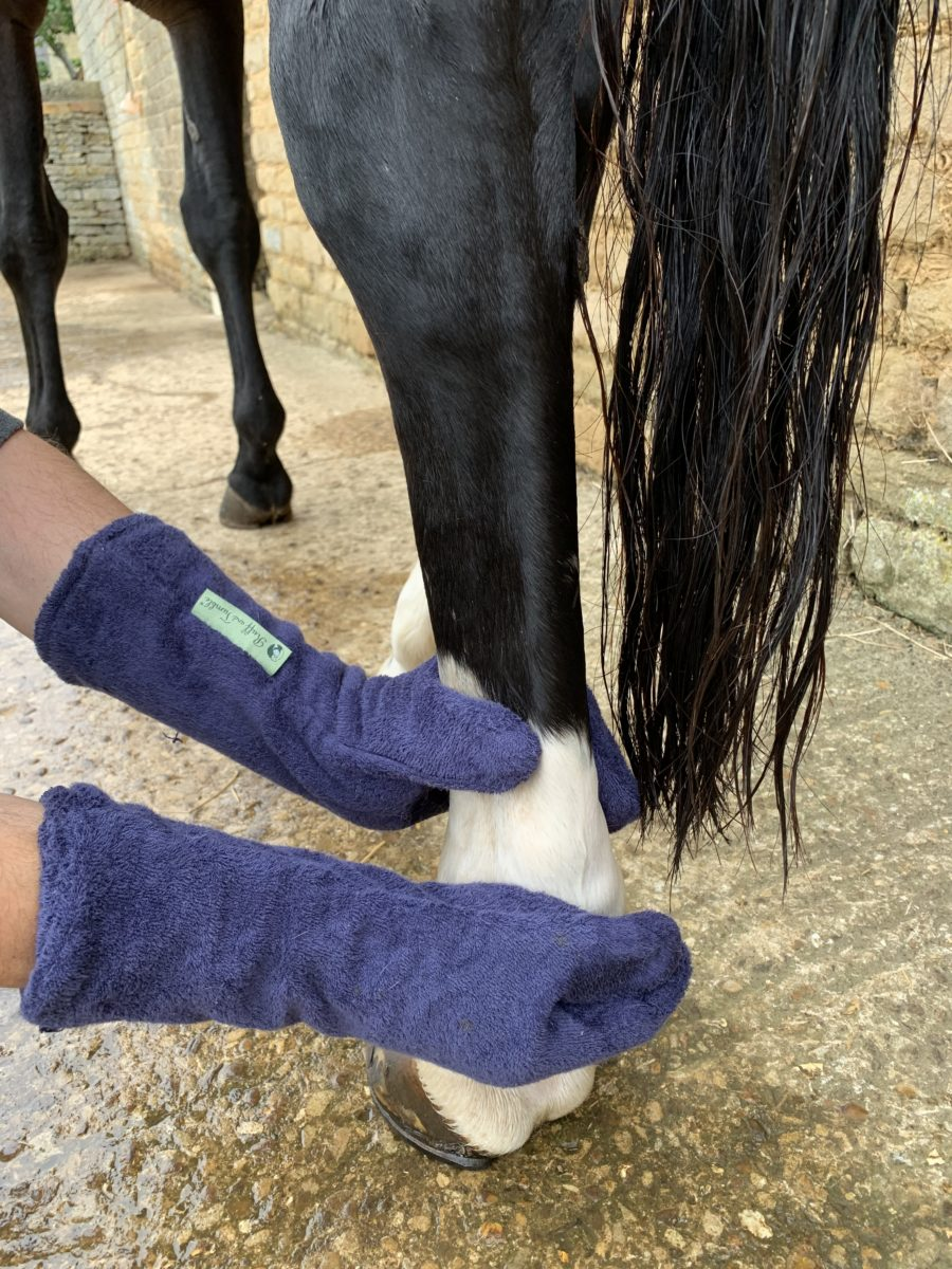 The no fuss way to effectively dry wet legs: Your Horse reviews the Ruff and Tumble Drying Mitts