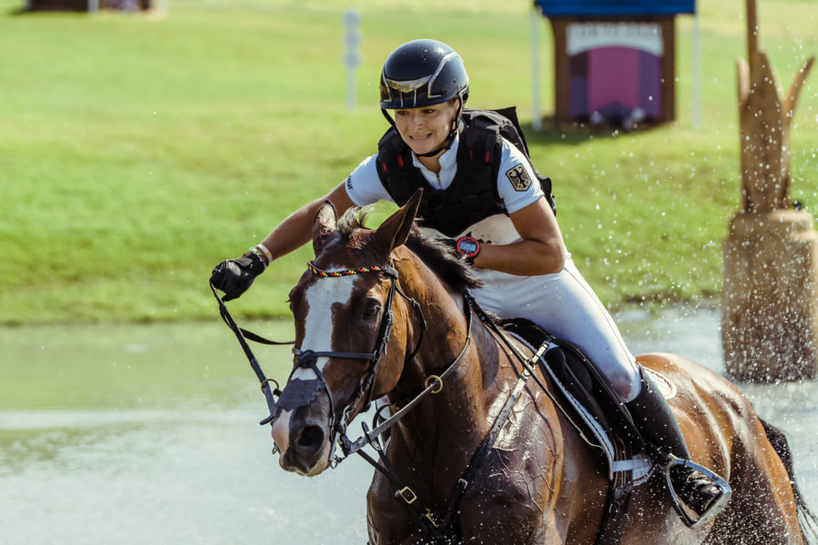 First ever female Olympic eventing champion crowned; individual silver for Britain's Tom McEwen
