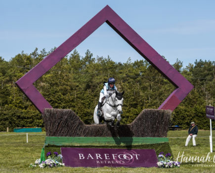 'Great to be out'; female riders rule as international eventing classes kick off at Burnham Market Horse Trials