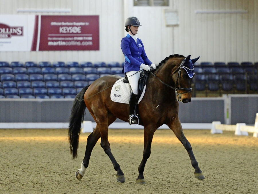 Enter the Dressage to Music Scene With a Bang