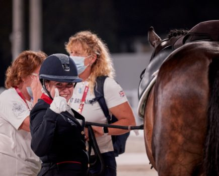 Natasha Baker secures silver on day two of equestrian competition at the Tokyo Paralympic Games