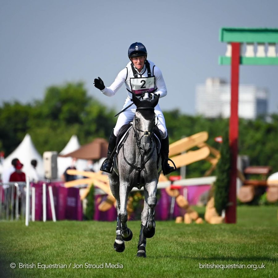 Tokyo Olympics: superstar British event riders hold double gold medal position following exciting cross-country phase