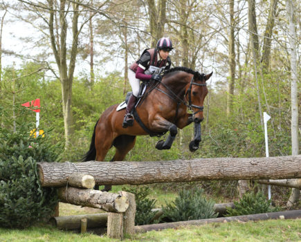 Watered going gets thumbs up from riders at Horseheath Horse Trials