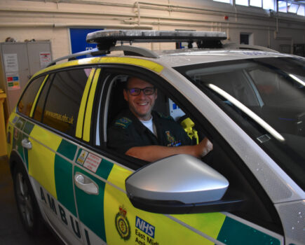 #keyworkers: the Paramedic Who Was Almost Strangled at Work and Whose Therapy Is Riding