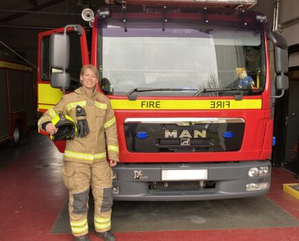 #keyworkers: the Horse-owning Firefighter Who Drives Ambulances in Her Spare Time