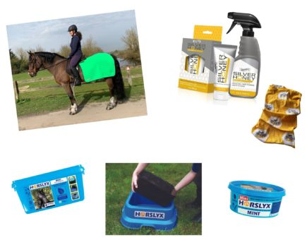 Win care products, balancers and a quarter rug