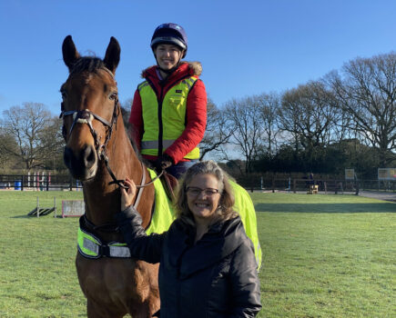 Driver, Rider and Mother Join Forces to Share Impact of Road Collision